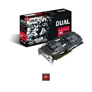 Carte Graphque Asus Radeon Dual RX 580 O4GB + Jeu offert + 3 mois d'Xbox Game (Via ODR 25€)