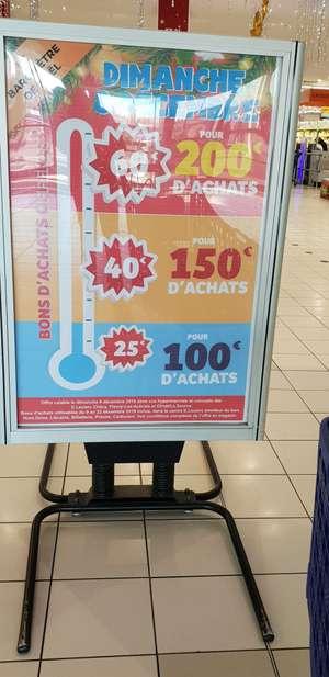 Jusqu'à 60€ en bons d'achats dès 200€ d'achat - Checy, Olivet, Fleury les Aubrais (45)