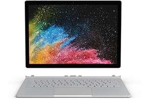 "PC Portable 2-en-1 13.5"" Microsoft Surface Book 2 (Clavier QWERTZ) - i7-8650U, RAM 16Go, SSD 512Go, Windows 10"
