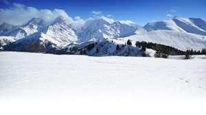 Séjour 7 nuits Skissim Select - Vue Mont Blanc (Plagne Aime 200) - Ex: du 14 au 21 décembre avec Studio cabine 3/4 personnes