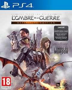 La Terre du Milieu : L'ombre de la Guerre Définitive Edition sur PS4