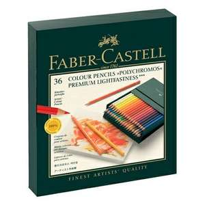 36 Crayons de couleur Faber-Castell Polychromos - rougier-ple.fr