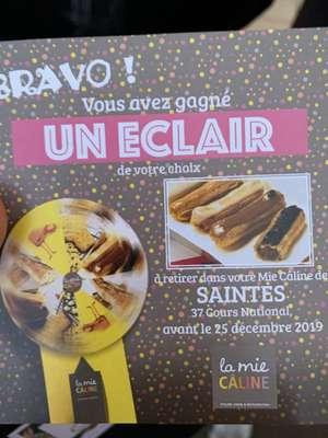 Distribution gratuite via jeu 100% Gagnant - Ex : Baguette gratuite - La Mie Câline Saintes (17)