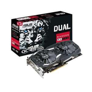 Carte graphique Asus Radeon RX 580 Dual OC - 4 Go + 1 jeux offert + 3 mois xbox Game Pass