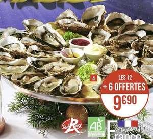 Panier de 18 huîtres label rouge fines de Claire marennes d'Oléron n°3