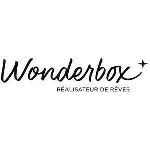 2 Cadeaux offerts pour l'achat d'1 wonderbox