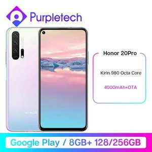 "Smartphone 6.26"" Honor 20 pro - 8 Go de Ram, 128 Go"