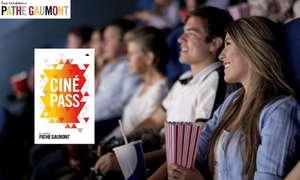 Abonnement Cinepass 6 mois pour les moins de 26 ans aux Cinémas Pathé Gaumont