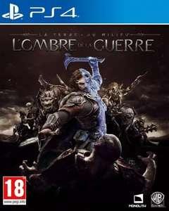 La Terre Du Milieu - L'ombre De La Guerre sur PS4