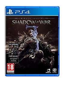 La Terre du Milieu : L'Ombre de la guerre sur PS4 (Import UK)