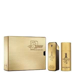 Coffret Paco Rabanne One Million Eau de toilette (100 ml) + déodorant vaporisateur (150 ml)