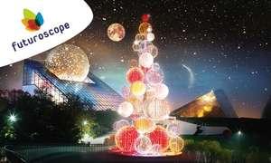 1 entrée adulte + 1 entrée enfant au parc Futuroscope pour une visite entre le 21/12/19 et le 05/01/2020