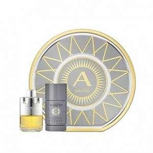 Coffret eau de toilette Azzaro Wanted (100 ml) + déodorant stick (75 ml) - News-Parfums.com