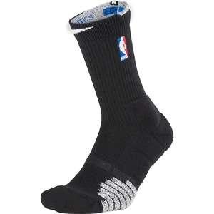 Chaussettes NBA Nikegrip Quick On-Court Crew - Noir/Blanc pour Homme (Taille S)