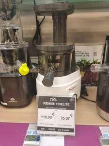 Extracteur de jus Moulinex Juiceo (Via 83.93€ sur Carte Fidélité) - Villiers-en-Bière (77)
