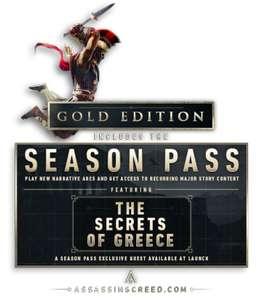 Assassin's Creed Odyssey Gold Edition : Jeu de base + Season Pass + AC 3 & AC Liberation Remastered sur PC (Dématérialisé - Uplay)