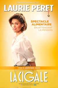 Spectacle Laurie Peret pour le 04 Janvier à La Cigale - Paris (75)