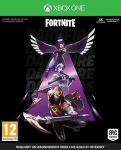 Fortnite Pack Feu Obscur sur Xbox One (DLC - Dématérialisé)
