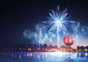 Spectacle Magie sur le lac du Disney Village - Edition La Reine des Neiges Gratuit - Chessy (77)