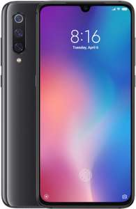 "Smartphone 6.39"" Xiaomi Mi 9 - full HD+, SnapDragon 855, 6 Go de RAM, 64 Go, noir (via ODR de 50€)"