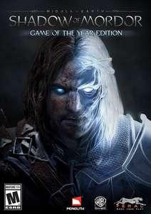 La Terre du Milieu : L'Ombre du Mordor édition GOTY sur PC (Dématérialisé - Steam)