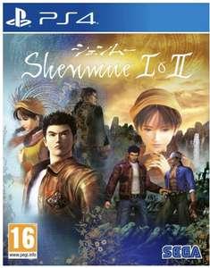 Shenmue 1 et 2 sur PS4 & Xbox One