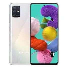 """Smartphone 6.5"""" Samsung Galaxy A51 - Double SIM, 128 Go, Blanc"""