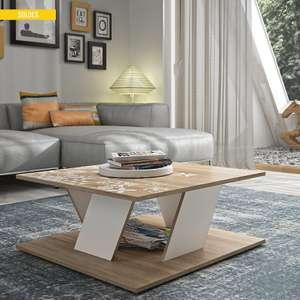 Table basse Baltic - 80×80 cm