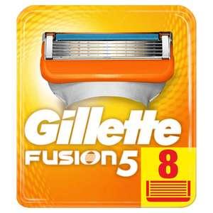 8 recharges pour rasoir 5 lames Gillette Fusion