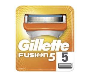 Paquet de 10 lames de Rasoir Gillette fusion (via 20.26€ fidélité)