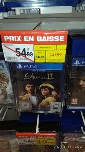 Shenmue 3 sur PS4 - Auchan Saint Sébastien (44)