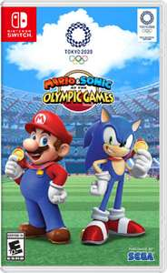 Mario & Sonic aux Jeux Olympiques de Tokyo 2020 sur Nintendo Switch (Dématérialisé - Store US)