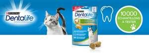 Échantillon gratuit de friandises buco-dentaire pour chat Purina Dentalife - ConsoAnimo.com