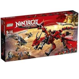Jeu de construction Lego Ninjago 70653 - Le dragon Firstbourne