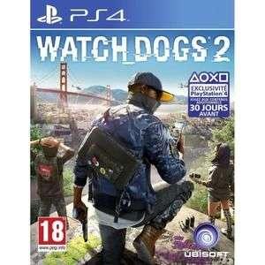 Watch Dogs 2 sur PS4 à 10.23€ et Xbox One à 9€