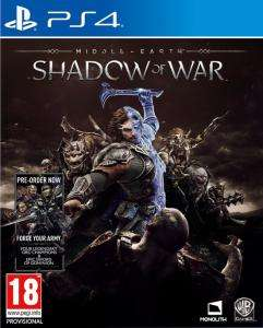 Sélection de jeux vidéos en promotion - Ex : La Terre Du Milieu - L'ombre De La Guerre sur PS4 (Acrodeal.com)