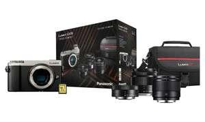 10% de remise dès 500€ sur une sélection Photo, Caméscope et Drone - Ex : Hybride Panasonic Lumix GX9 + 3 Objectifs (12-32, 35-100 & 25 mm)