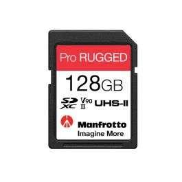 Carte mémoire résistante SDXC Manfrotto Pro Rugged - 128 Go (UHS-II, V90, U3)