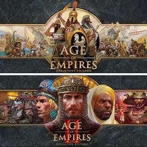 Sélection de jeux PC en promotion - Ex: Bundle Age of Empires Definitive Edition + Age of Empires II Definitive Edition (Dématérialisé)