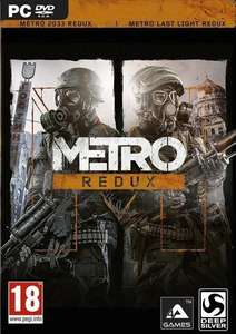 Jeu Metro Redux Bundle: Metro 2033 + Metro: Last Light sur PC
