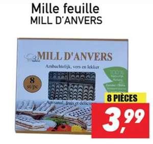 8 parts de mille-feuille - Tanger Marché Bondy (93)
