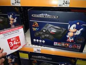Console Sega mega drive HD 85 jeux et 2 manettes sans fil AT Games - Auchan grande synthe (59)
