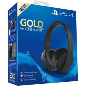 Casque sans-fil Sony PS4 Gold
