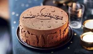 Sélection de gâteaux et bûches de Noël Picard à partir de 5€ - Ex : Gâteau au chocolat et noix de pécan