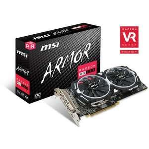 Carte graphique MSI Radeon RX 580 Armor 8G OC - 8 Go