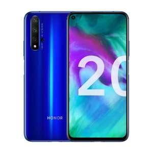 """Smartphone 6,26"""" Honor 20 - Full HD+, Kirin 980, RAM 6 Go, ROM 128 Go + Bracelet connecté Honor Band 5 offert"""