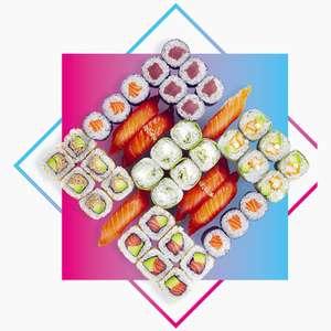 [Tous les mercredis] Happy Sushi Box (42 pièces) pour 25€ à emporter