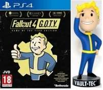 Fallout 4 Edition Game Of The Year sur PS4 + Figurine Fallout 76 Bobblehead offerte