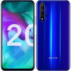"""Smartphone 6.26"""" Honor 20 (Noir ou Bleu) - Full HD+, Kirin 980, RAM 6 Go, 128 Go (260.91€ pour les VIP)"""