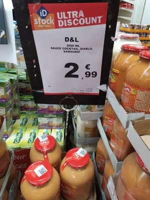 Pot de Sauce samouraï D&L - 2000ml - ID Stock Englos (59)
